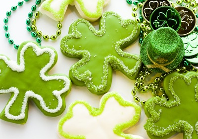 St. Patty's Day Green Mint Cookies