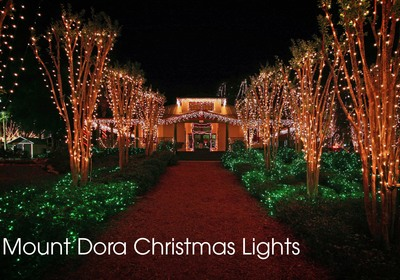 Mount Dora's Must-See Light Displays