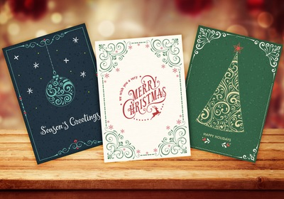 7 Fun Ways to Display Holiday Cards